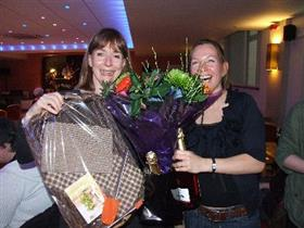 Jane and Nicky and prizes